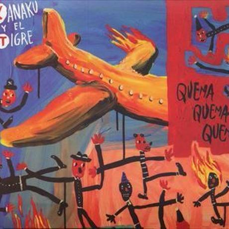 KANAKU Y EL TIGRE / QUEMA QUEMA QUEMA  (CD)