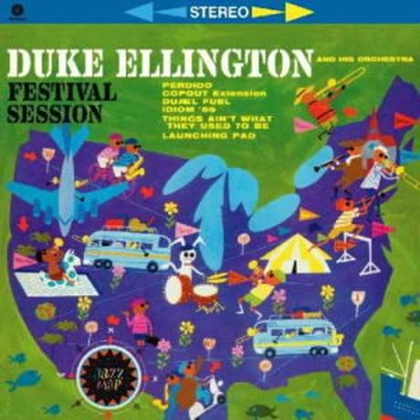 DUKE ELLINGTON / FESTIVAL SESSION + 2 BONUS TRACKS (BONUS TRACKS) (LP)