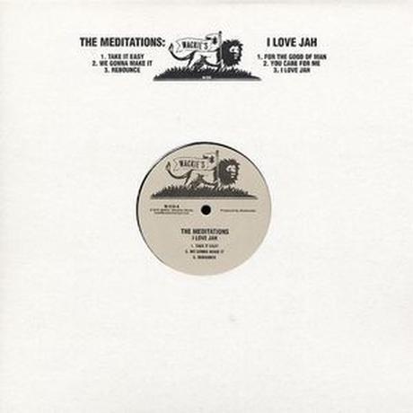 MEDITATIONS / I LOVE JAH (LP)