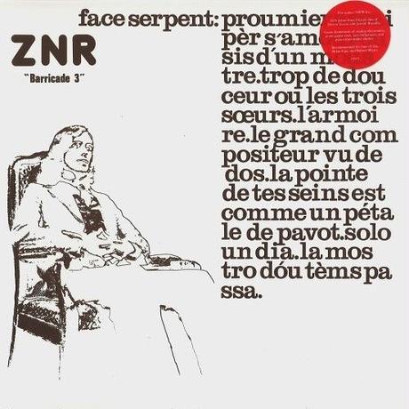 ZNR / BARRICARD 3 (LP) 180g DLコード付き