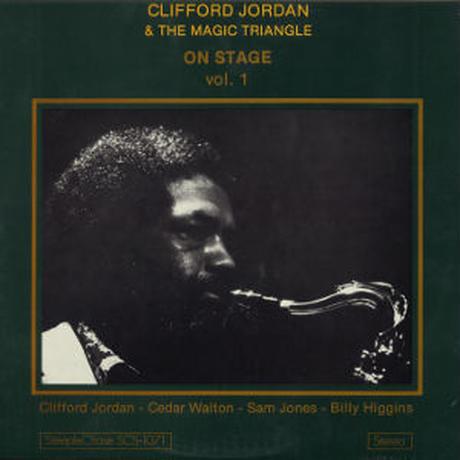 CLIFFORD JORDAN / On Stage Vol.1 (LP)