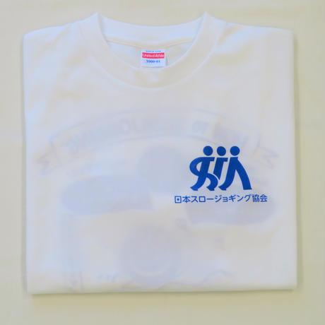 スロージョギングTシャツ 白