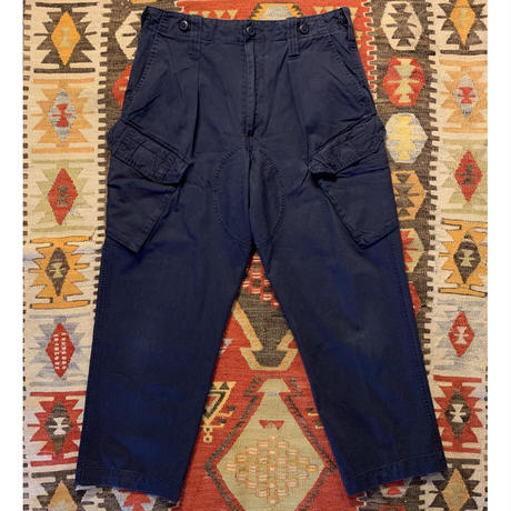 Vintage Royal Navy Fatigue Pants.