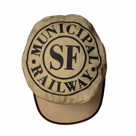 SF MUNI 70s Pillbox Cap