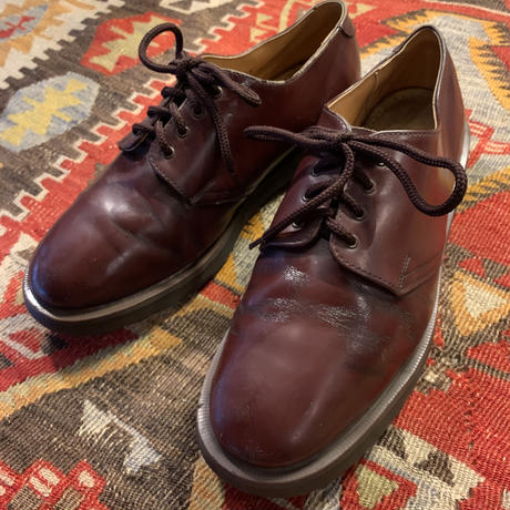 Vintage Dr.Martens Cherry Red Leather Made in England