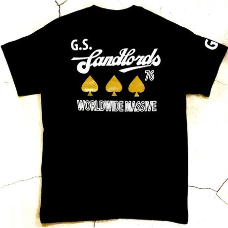 "G.S. Landloards ""WORLD WIDE MASSIVE"" T-shirts (Short Sleeve Only)"