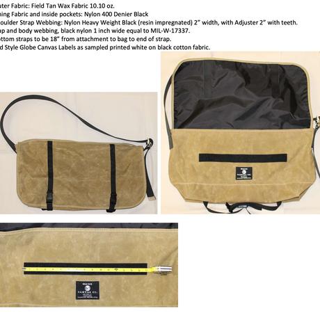 De Martini Messenger Bag DM100( Large size) Exclusively for slowpoke.