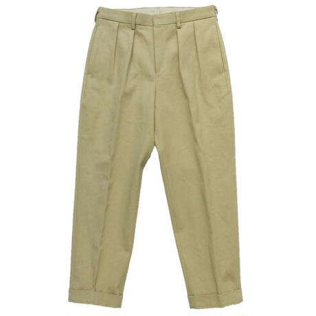 """Brown by 2-tacs """"TAPERED SLACKS"""""""