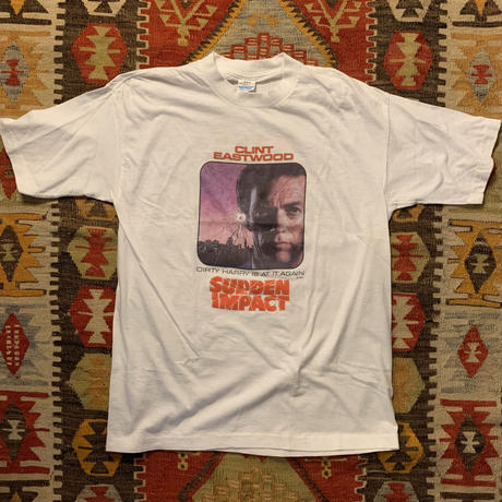 Vintage 80s  Dirty Harry 4(SUDEEN IMPACT)  T-shirt