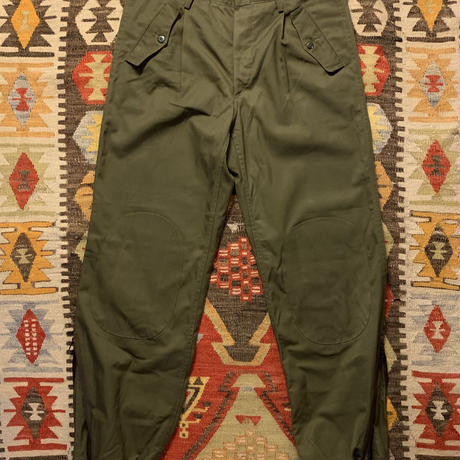 Vintage 80s  Italy Army Combat Trousers