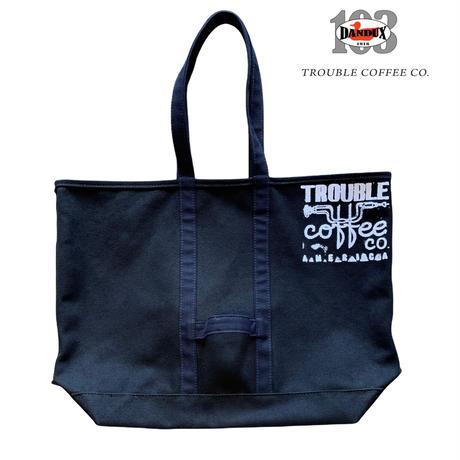 Trouble Coffee Co. Jumbo Tote bag by DANDUX