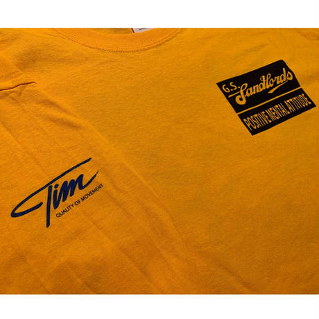 "G.S. Landloards ""PMA"" Yellow Long sleeve T-shirts"