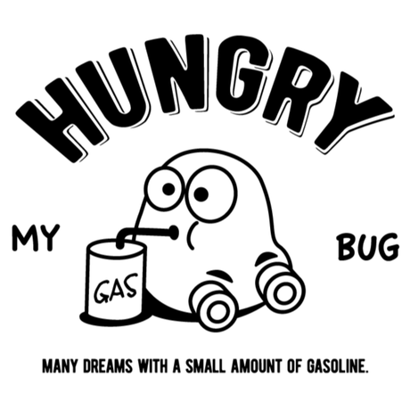 HUNGRY Tシャツ(イエロー)