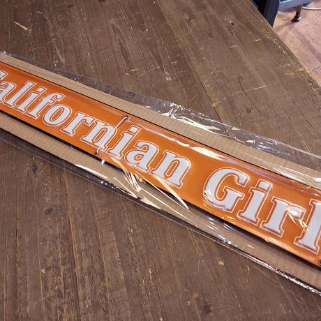 エンボスメタルサイン CALIFORNIA GIRL