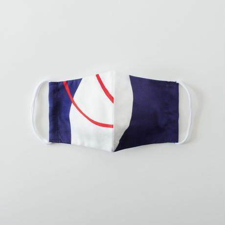 印染 布マスク『申』一匹 Mサイズ /7917