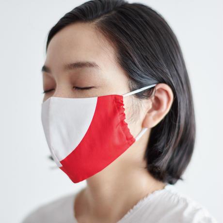 印染 布マスク『酉』一匹 Mサイズ /7929