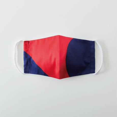 印染 布マスク『巳』一匹 Mサイズ /7924