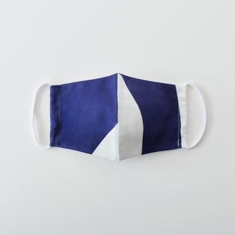 印染 布マスク『子』一匹 Mサイズ /7915