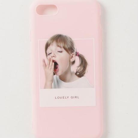 【GLORY】 LOVELY GIRL iPhoneケース