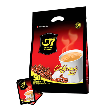 G7 3in1 instant coffee(Bag 50sachets)