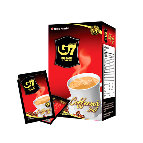 G7 3in1 instant coffee(Box 10 sachets)