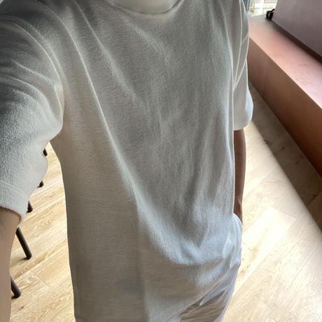 Keisuke okunoya パイル素材のTシャツ