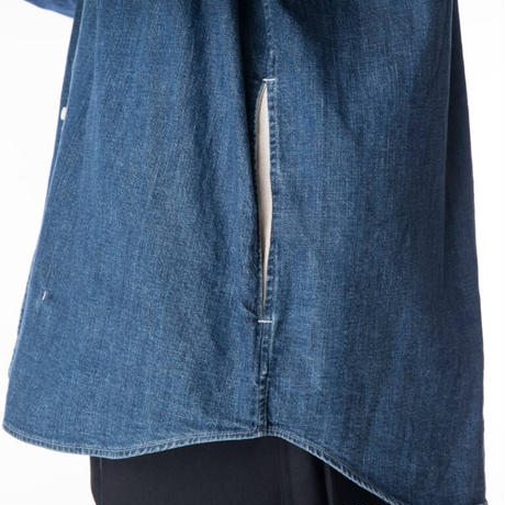 【KURO】DENIM BIG SHIRT