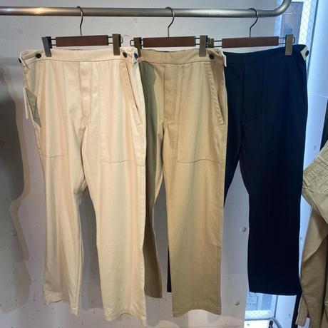 【KURO】Adjustable Baker Pants