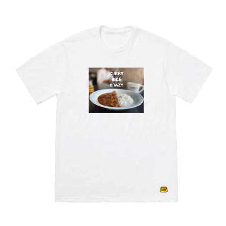 短パンカレー photoプリントTシャツ ( CURRY RICE CRAZY )