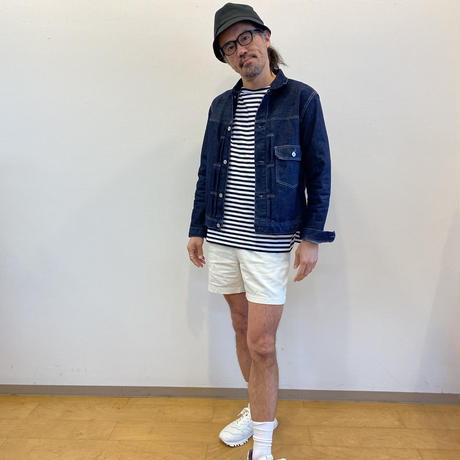Keisuke okunoya ボーダーカットソー(ユニセックス)