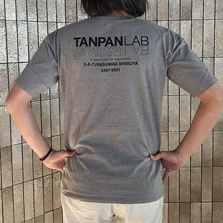 TANPAN LAB オリジナルプリントTシャツ(ワッペン付)