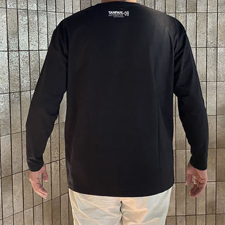 TANPAN LAB オリジナルポケット付ロングスリーブTシャツ。(ワッペン付)