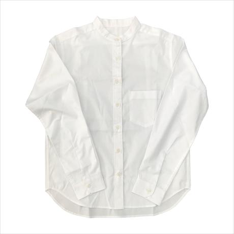 Keisuke okunoya バンドカラーシャツ