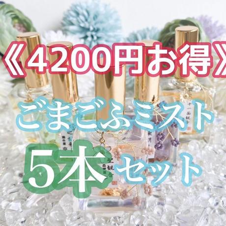 【完売】《単品より4,200円お得♪》ごまごふミスト5本セット