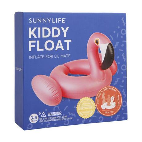 SUNNYLIFE(サニーライフ)ベイビー用フラミンゴフロート/浮き輪/KIDDY FLOAT FLAMINGO