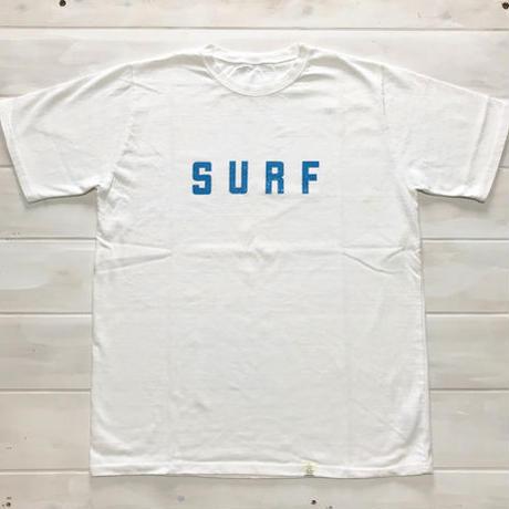 ISLANDER/アイランダー SURFビッグシルエットTシャツ(ホワイト)