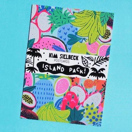 【Kim Sielbeck キム・シルベック】ポストカード5枚セット Island Pack 5×7