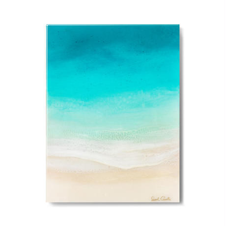 【Sarah Caudle / サラカードル】Soothing Sea《Open Edition Resin Prints》12×16in