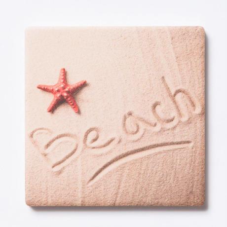 SoHa LIVING/Beach in the Sand Coasterコースター