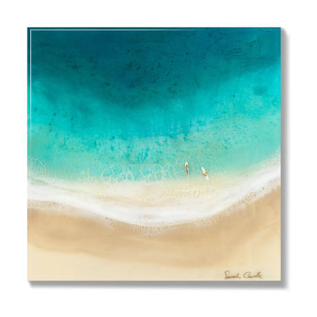【Sarah Caudle / サラカードル】Surf Date 《Open Edition Resin Prints》8×8in