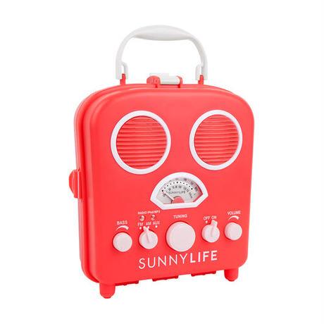 SUNNYLIFE(サニーライフ)BEACH SOUNDS/ビーチステレオスピーカー/Hot Coral