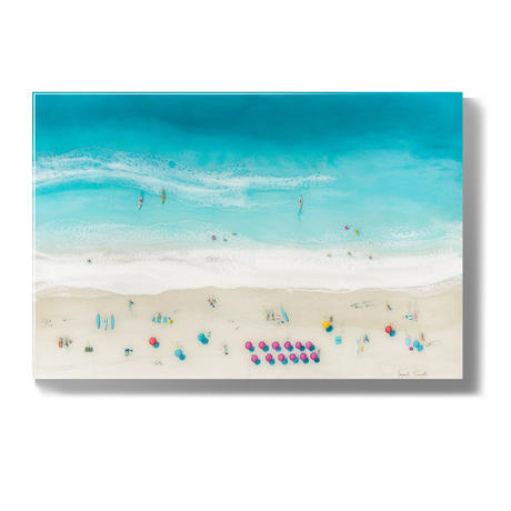 【Sarah Caudle / サラカードル】Waikiki Beach 《Open Edition Resin Prints》8×10in