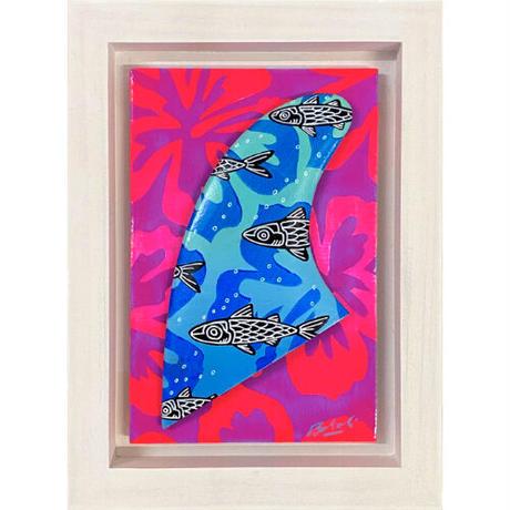 【Eduardo Bolioli エドゥアルド・ボリオリ】オリジナルフィンアート 『 Hibiscus』原画