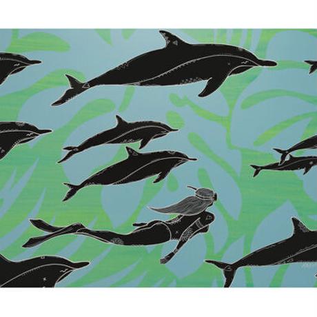 【Eduardo Bolioli エドゥアルド・ボリオリ】マットプリントアート 『Naia』11×14(直筆サイン入り)