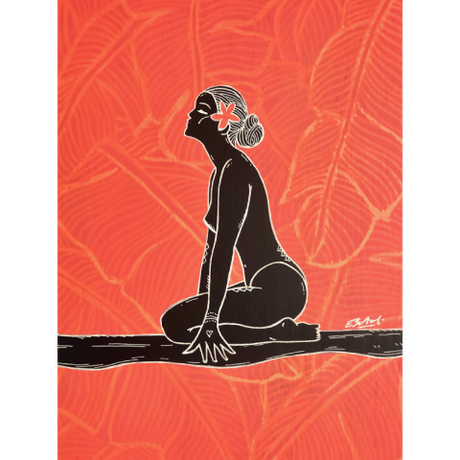 【Eduardo Bolioli エドゥアルド・ボリオリ】マットプリントアート 『Josie』11×14(直筆サイン入り)