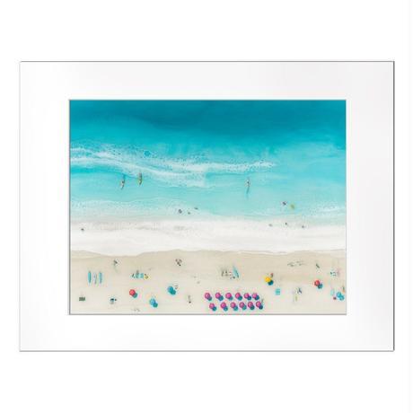 【Sarah Caudle / サラカードル】Waikiki Beach《Matted Prints》Mサイズ