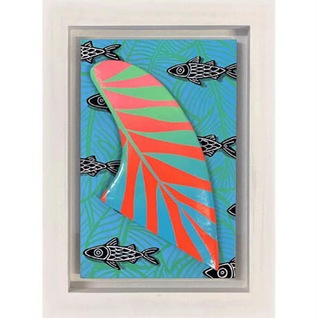 【Eduardo Bolioli エドゥアルド・ボリオリ】オリジナルフィンアート 『 Ama'ama Summer』原画