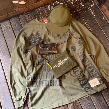 【一点物/XL】5656WORKINGS/COMMERCIAL L/S UNIFORM_ARMY GREEN