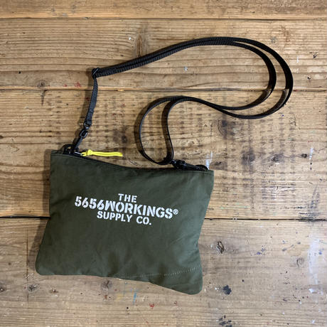 5656WORKINGS/TOOL SHOULDER BAG_ARMY GREEN_02