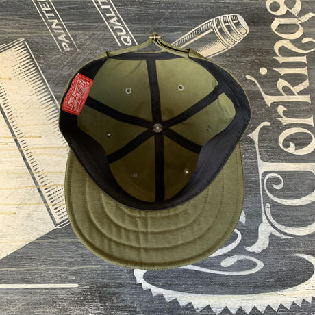 5656WORKINGS/NO.56 CREW WORK CAP_ARMY GREEN